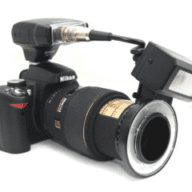 Digital SLR's w/Dine's Mini Ring/Point Flash